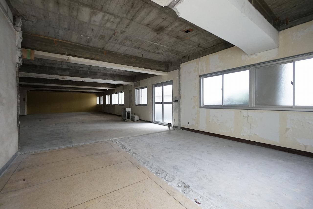 【スケルトン】静かな環境の事業用スペース