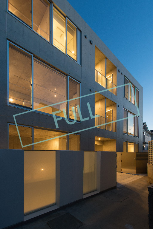 新築の、スタイリッシュなデザイナーズ賃貸